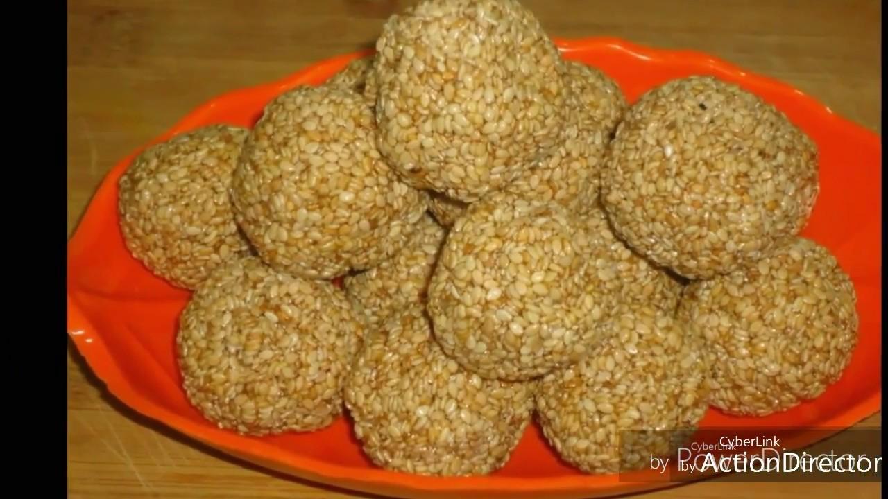 Til Gud Ke Ladoo Recipe Desi Cooking Recipes