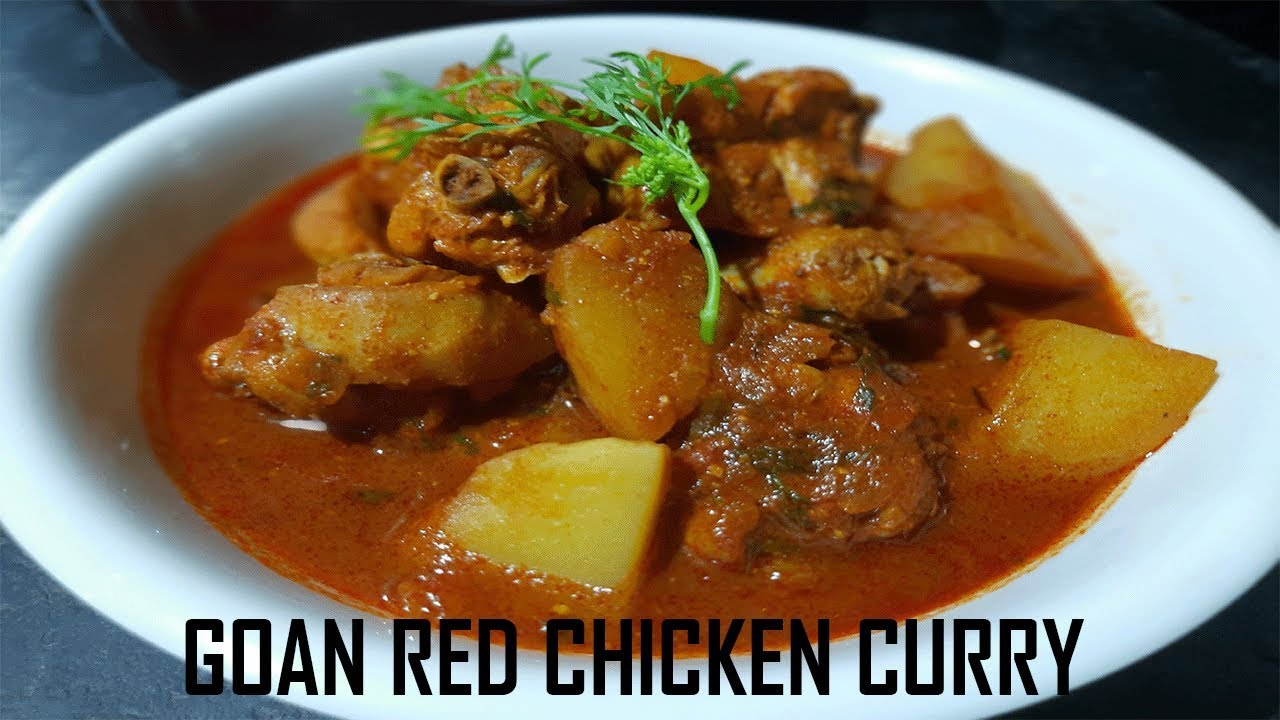 Goan Red Chicken Curry How To Make Chicken Desi Cooking Recipes